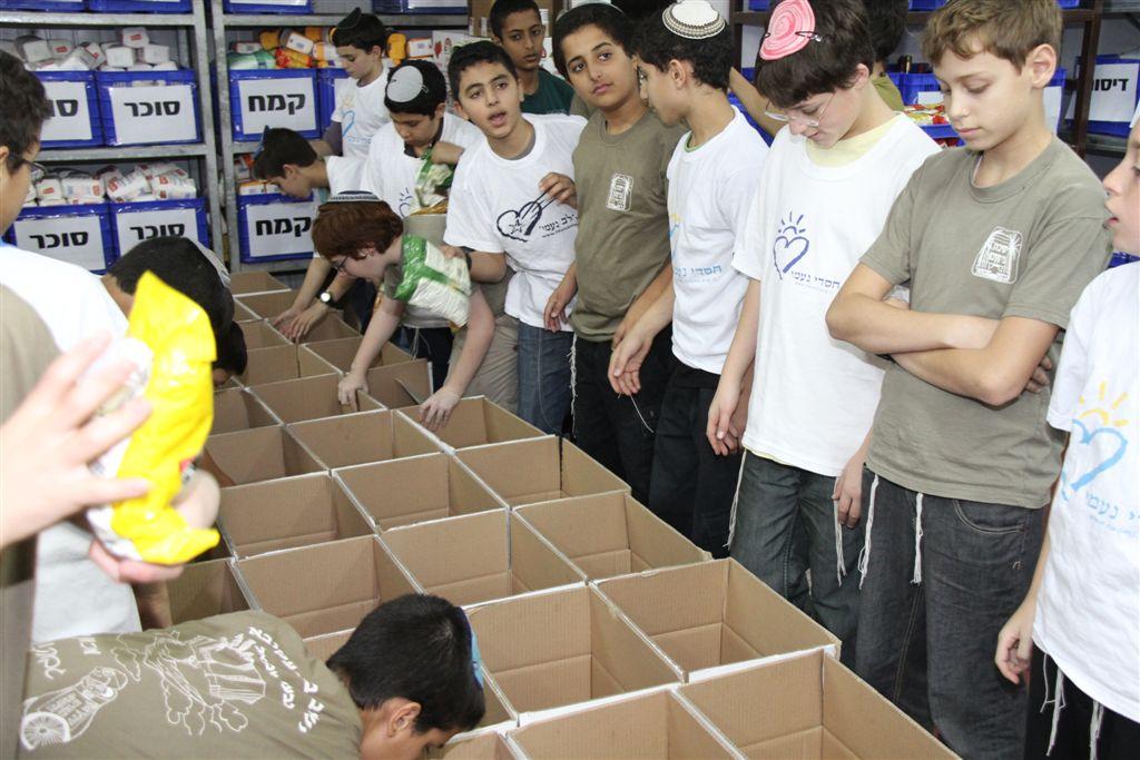 התנדבות בעמותת חסדי נעמי (9)